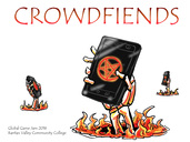 Crowd Fiend Poster